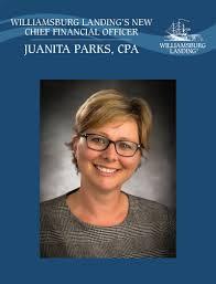 Williamsburg Landing announces Juanita Parks as CFO