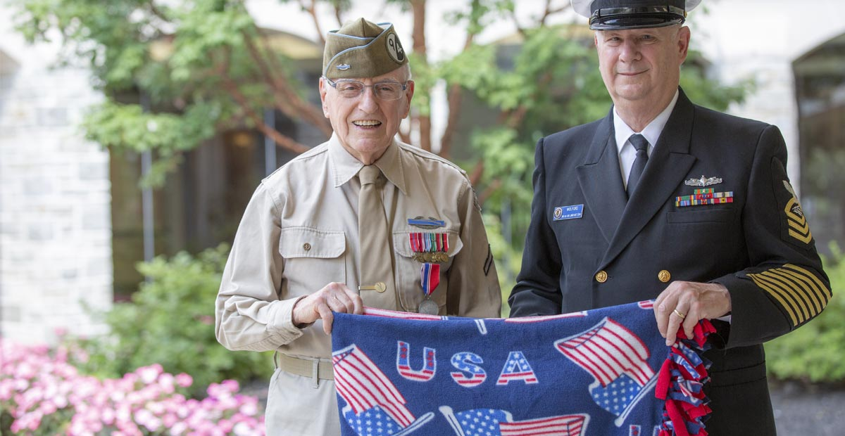 Masonic Village Hospice Seeks Veteran Volunteers