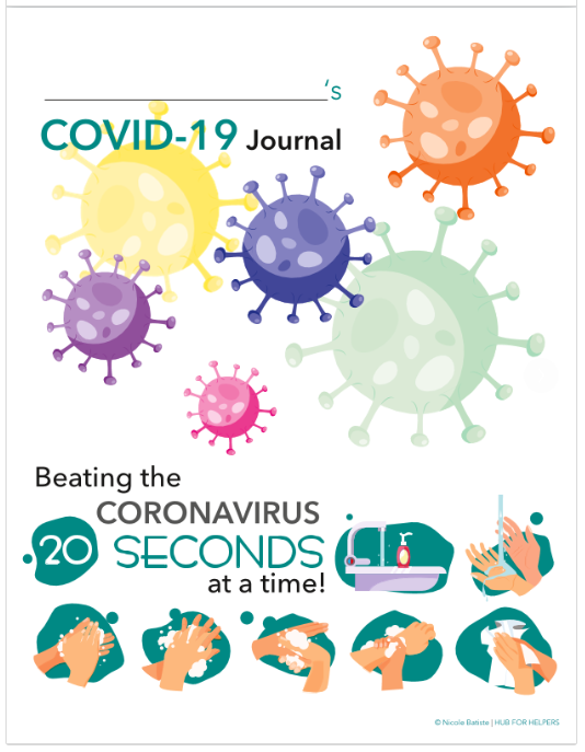 COVID-19 Journal for Kids, prepared by Social Workers from Westminster Canterbury at Home
